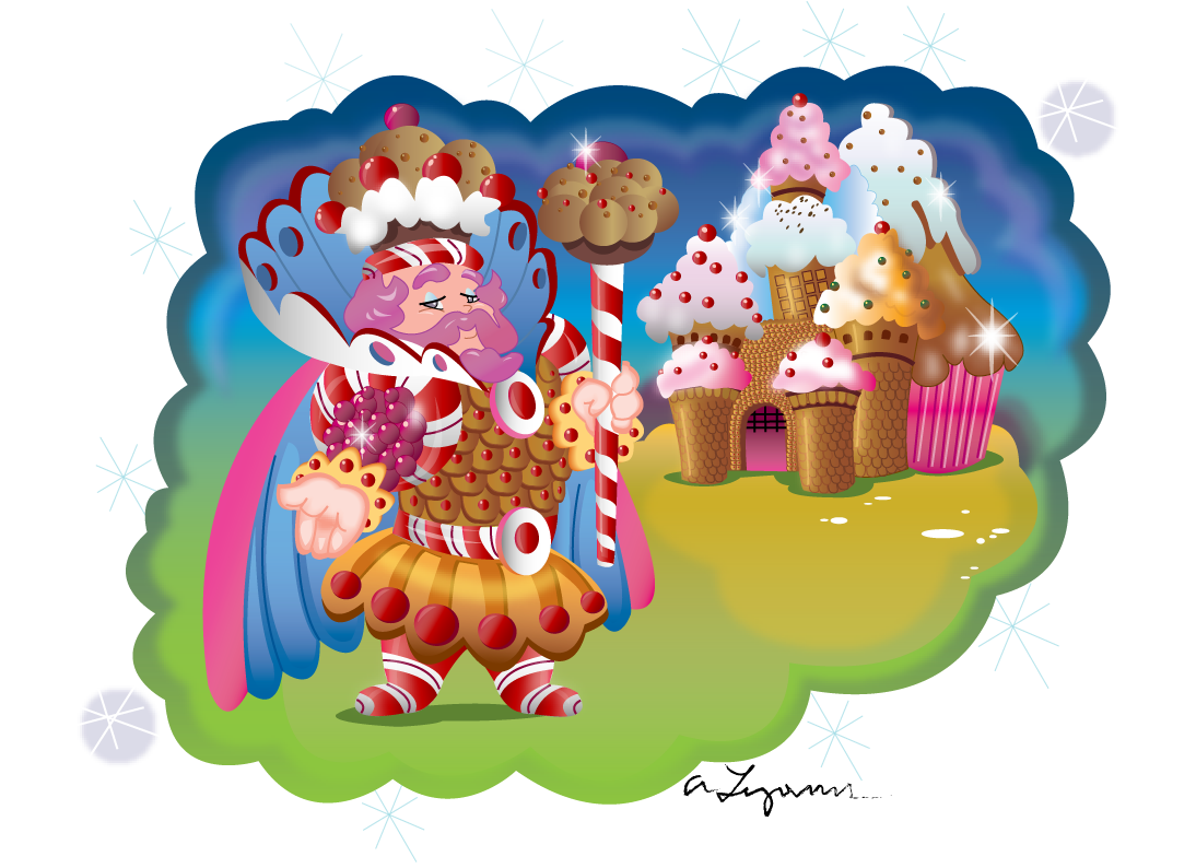 Candyland King Candy The Beginning of Anoth...